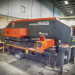 "Amada Vipros 255 Turret Punch Press - 50""x100"" Max Sheet Size - 22 Ton Capacity - 31 Station Turret w/ 3 Auto-Index Stations - 1/4"" Max Material Thickness"