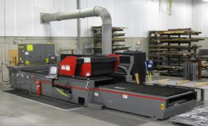 "Cincinnati CL-840 Laser - 4000 watt resonator - 60""x120"" shuttle table - Capacity: 1"" mild steel, 1/2"" thick stainless steel & aluminum"