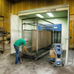 Powder Coating Spray Booth - Self-Contained with (2) NordsonEncore Powder Coating Machines
