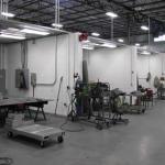 "Welding & Grinding Booths - - Mig & Tig welding; steel, aluminum & stainless - Plasma cutting (5/8"" max) - Stud Welder (1/2"" diameter max) - Torrit Filtered Fume Collectors"
