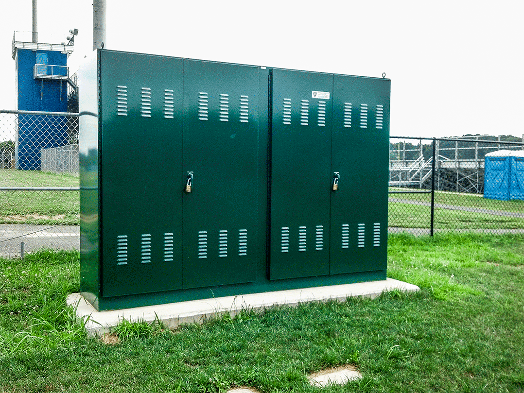 Pad Mounted Electrical Enclosures Types Fabrication Uses Nj Wiring Trough Nema 1 Mount Type 3r Exterior Enclosure