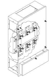 PEPCO 400 - 800 AMP NEMA 1 CT Cabinet