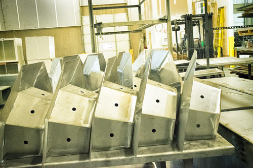 security camera housing - metal fabrication