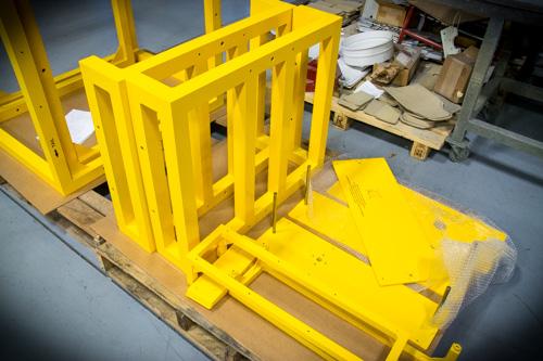 Custom Metal Fabrication Order N J Sullivan