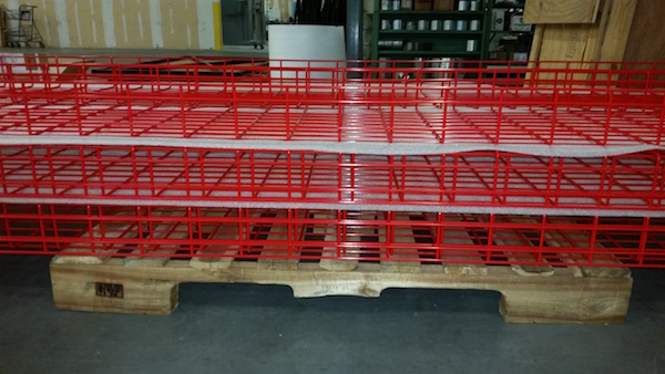 Custom Metal Fabrication Cable Tray N J Sullivan
