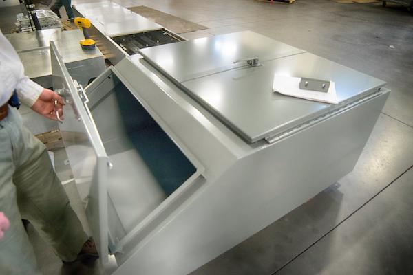 Roll Up Generator Cabinet 1 N J Sullivan