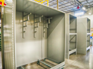 Metal Fabrication termination cabinet