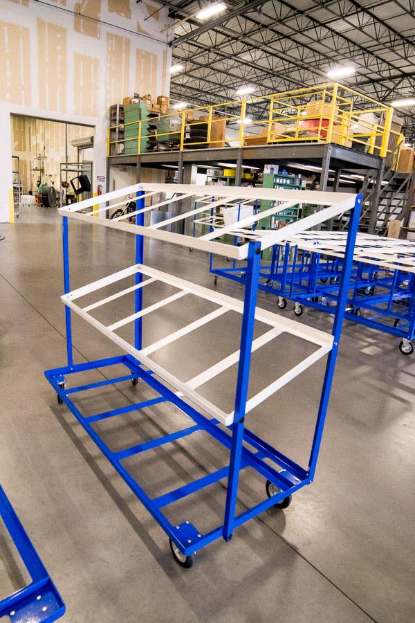 Postal Carts Bin Mail Sorting Carts N J Sullivan