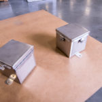 nema4x Stainless Steel Boxes Hinged with Clamps