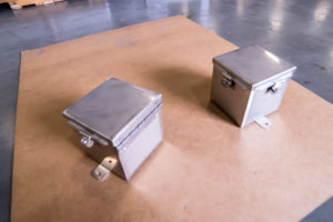 Stainless Steel Boxes Hinges with Clamps nema4x