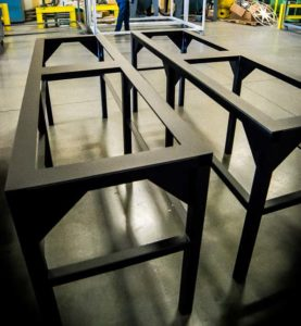 custom-metal-fabrication-electrical equipment stand
