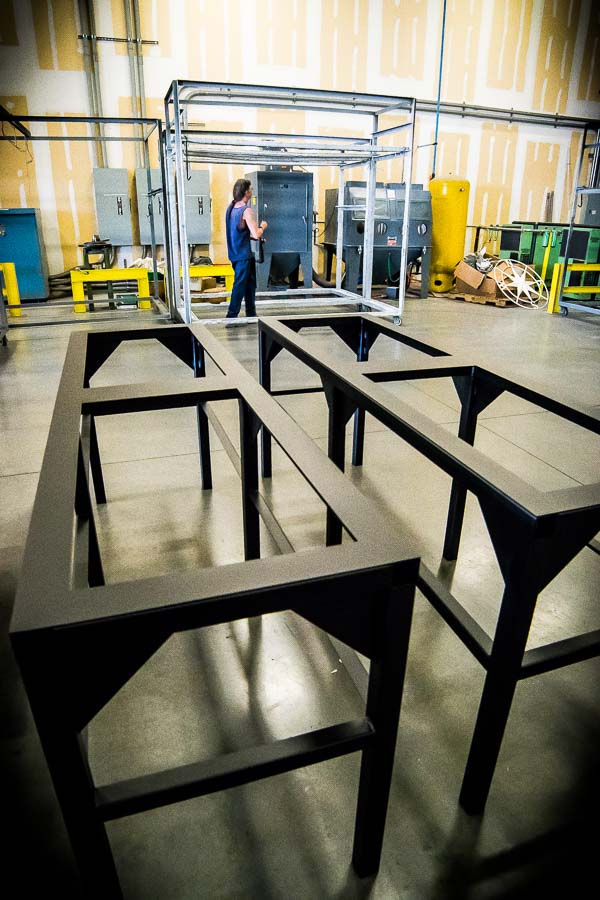 Electrical equipment stands n j sullivan for Fabrication stand