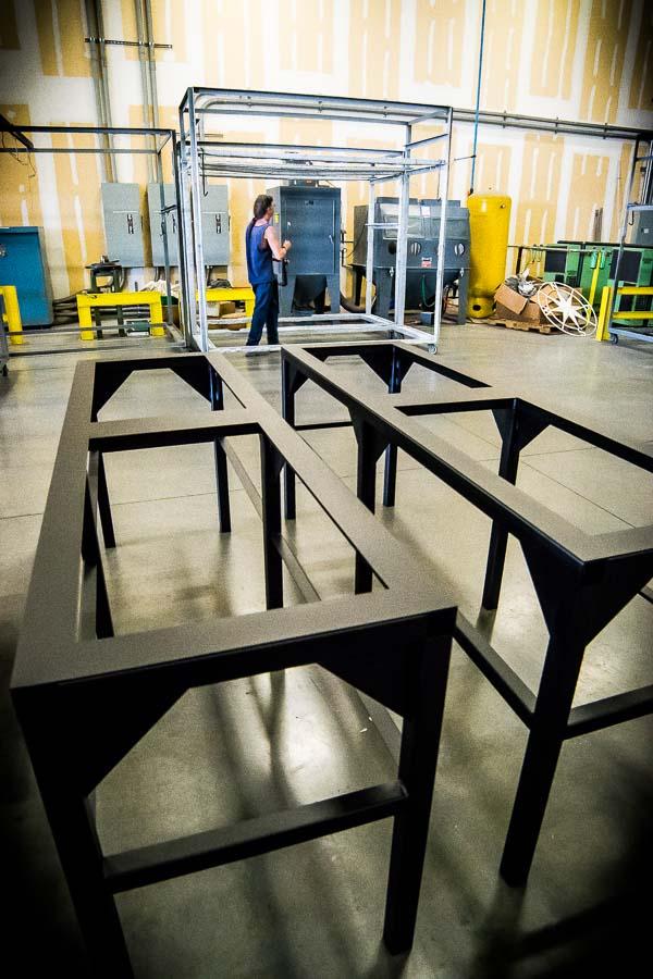 custom-metal-fabrication-electrical equipment stand