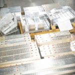 Busbars -Aluminum-copper-nickel-plated