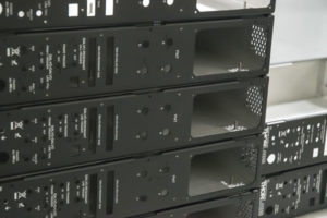 Rack mount server boxes
